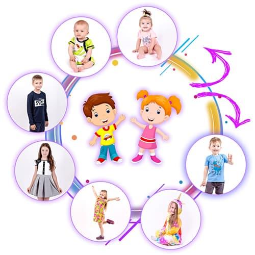 Виробник трикотажу для дітей і дорослих від https://valeotrikotage.com/